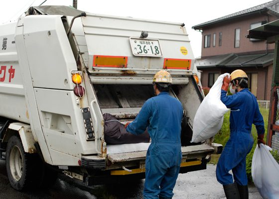 パッカー車(産業廃棄物運搬)