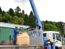 フレコンの産業廃棄物回収
